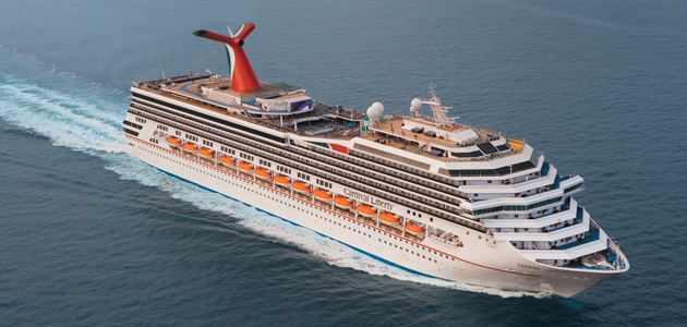 Carnival LIberty, now off the Cape south coast approaching Algoa Bay, featured in Africa PORTS & SHIPS maritime news