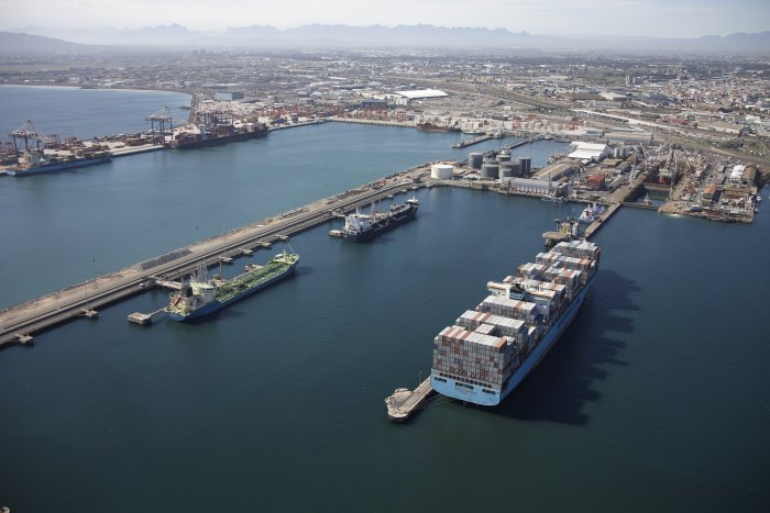 Cape Town harbour, featured in Africa PORTS & SHIPS maritime news