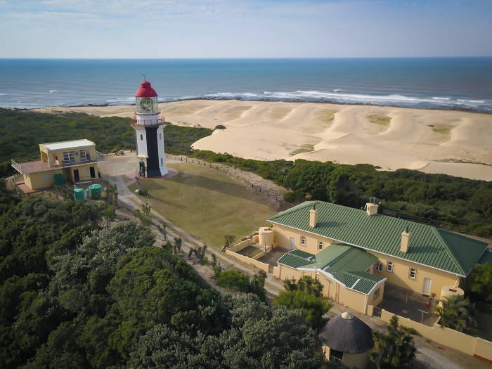 Great Fish Point Lighthouse, featuring in Africa PORTS & SHIPS maritime news
