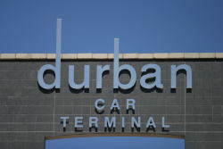 TPT Durban Car Terminal nameboard, featured in Africa PORTS & SHIPS maritime news