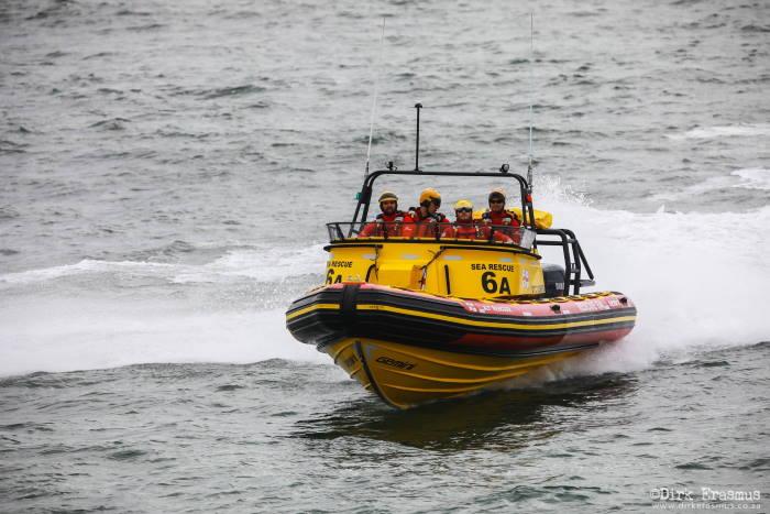 NSRI Port Elizabeth rescue craft JLT Rescuer. Picture NSRI . Dirk Erasmus, featured in Africa PORTS & SHIPS maritime news