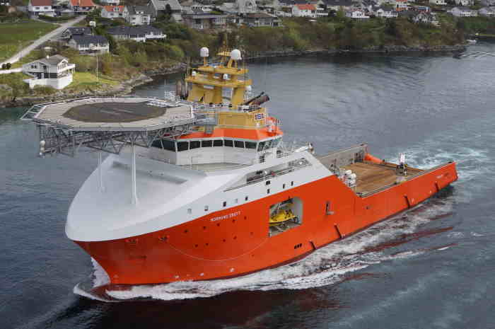 Normand Drott, one of two service vessels coming to South Africa, featured in Africa PORTS & SHIPS maritime news
