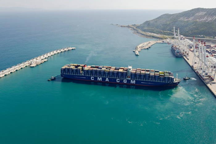 Port of Tanger Med, Africa's largest container port, featured in Africa PORTS & SHIPS maritime news