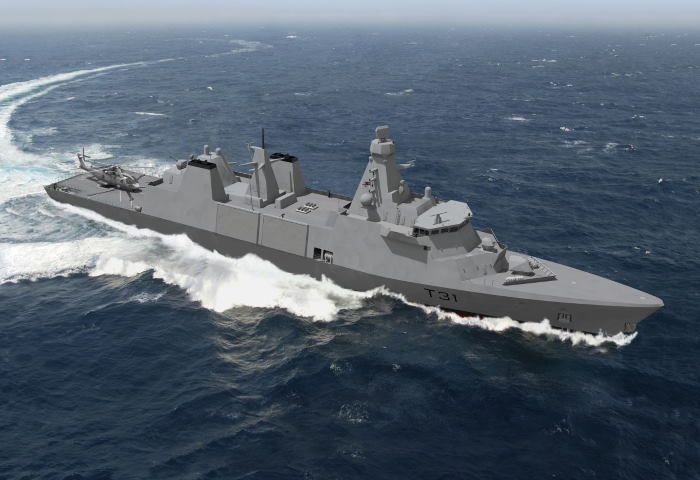 Type 31 frigate: Each new Type 31 frigate of the Royal Navy will be powered by four MTU 20V 8000 M71 engines, each delivering over 8,000 kW. Picture: Rolls-Royce Power Systems AG, featured in Africa PORTS & SHIPS maritime news
