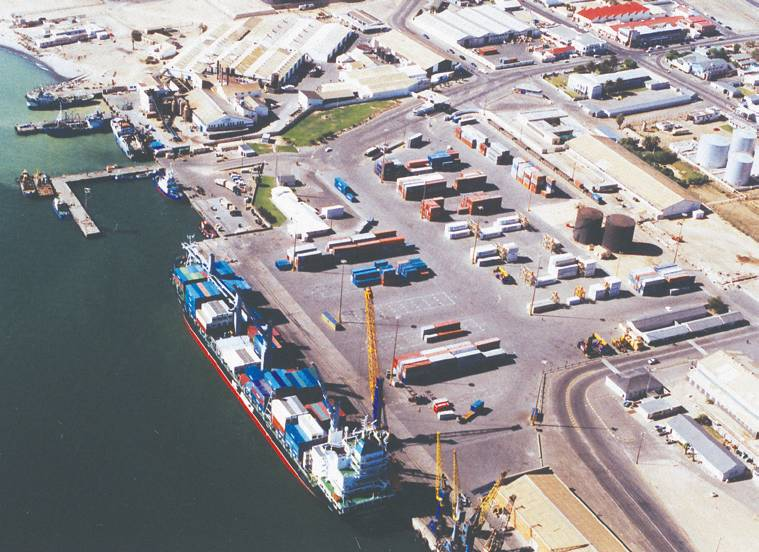 Walvis Bay port, featured in Africa PORTS & SHIPS maritime news