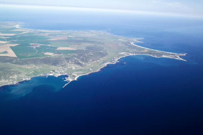 St Helena Bay from the air. Picture Wikipedia, featured in Africa PORTS & SHIOPS maritime news