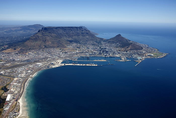 Port of Cape Town, reported to be catching upwith the backlogs, featured in Africa PORTS & SHIPS maritime news
