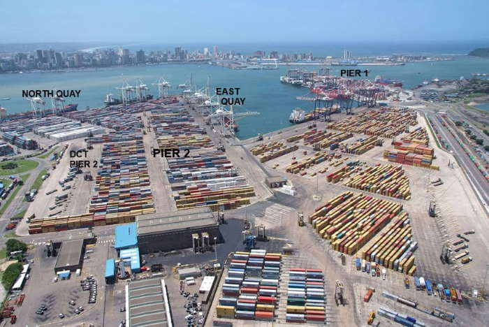 Port of Durban and its container terminals, featured in Africa PORTS & SHIPS maritime news