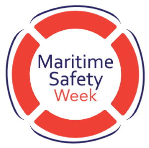 UK Maritime Safety Week 2020 logo, appearing in Africa PORTS & SHIPS maritime news