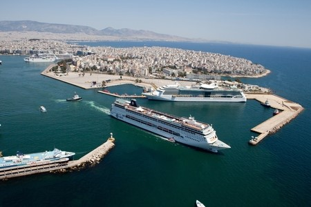 Port of Piraeus. Image: Copyright Port of Piraeus © featured in Africa PORTS & SHIPS maritime news