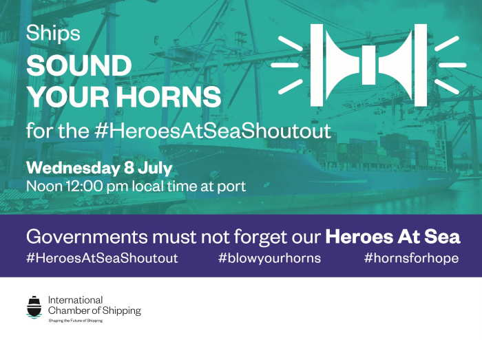 sOUNF yOUR hORN BANNER DISPLAYED IN AFRICA PORTS & SHIPS maritime news