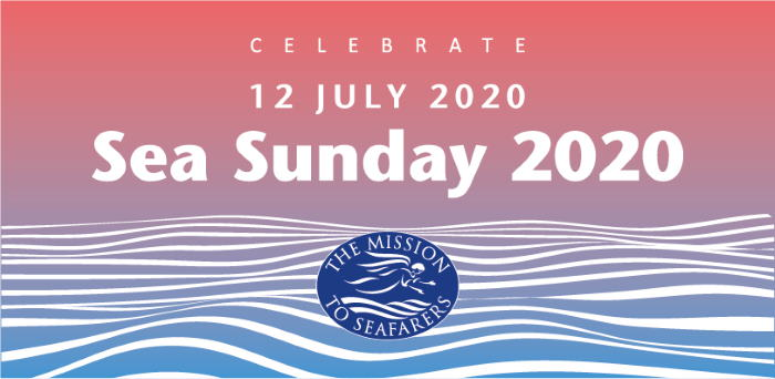 Seafarers Sea Sunday 2020 banner, appearing in Africa PORTS & SHIPS maritime news