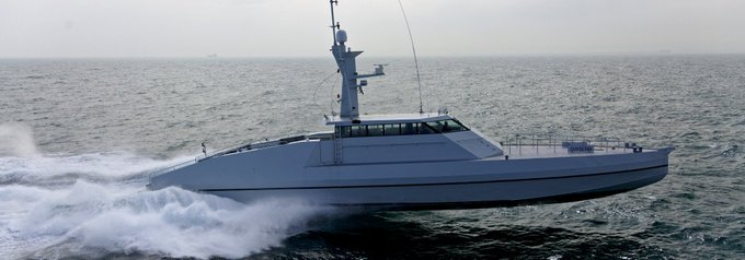 One of the Mozambique fast patrol boats procured controversially under the so-called EMATUM deal involving 30 long-line trawlers and patrol boats. One of these is said to have been sunk by terrorist fire, featured in Africa PORTS & SHIPS maritime news