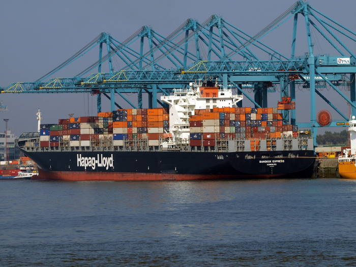 Bangkok Express. Picture: Ocean Insights, featured in Africa PORTS & SHIPS maritime news