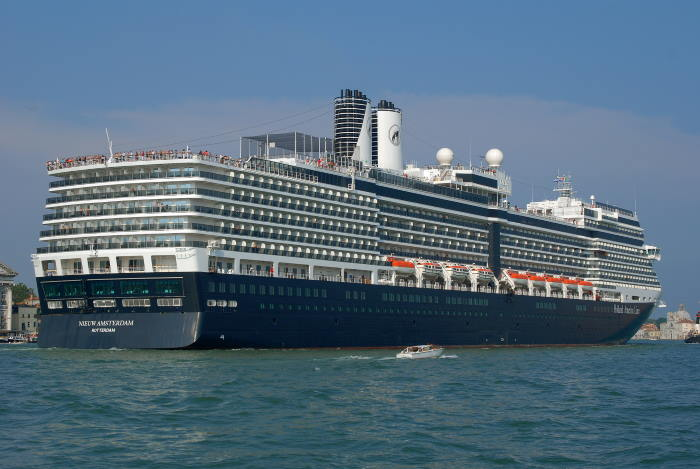 Nieuw Amsterdam, cruise ship of Holland America Lines, due in Durban next week, featuring in Africa PORTS & SHIPS maritime news