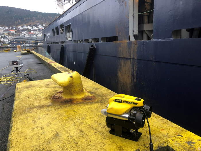 One of VUVI AS's ROVs, featured in Africa PORTS & SHIPS maritime news