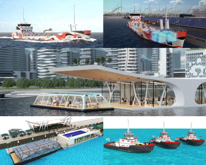 Ships for the future: e5 Lab illustrations, posted in Africa PORTS & SHIPS maritime news