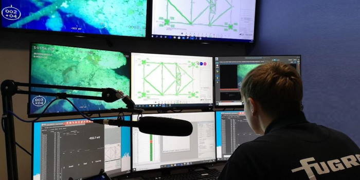 fUGRO REMOTE PLATFORM INSTALLATION, featured in Africa PORTS & SHIPS maritime news