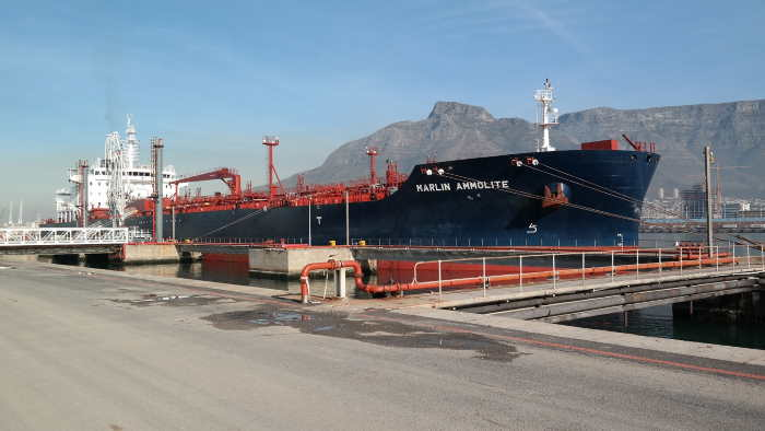 The Burgan Cape Terminal in the Port of Cape Town, see report below,featuredin AfricaPORTS & SHIPS maritime news