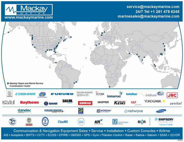 Mackay acquires Cape Town-based Dynamic Marine Services, featured in Africa PORTS & SHIPS maritime news
