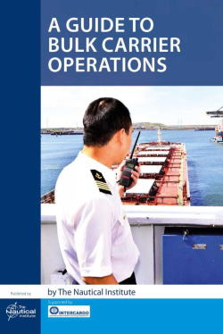 NI Guide to Bulk Carrier operations front-cover, featuredin Africa POORTS & SHIPS maritime news