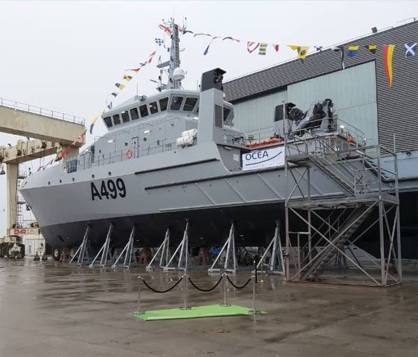 The uncompleted NNS Lana, featured in Africa PORTS & SHIPS maritime news