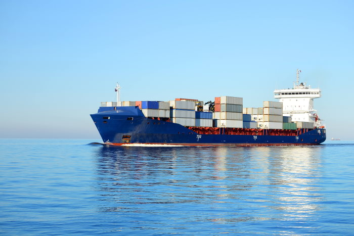 Container ship featured in Africa PORTS & SHIPS maritime news