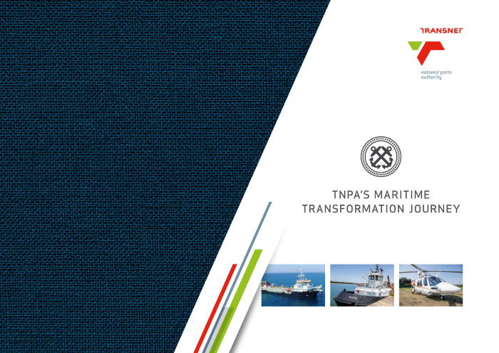 Transnet coffee table book marking 20 years of transformation and featured in Africa PORTS & SHIPS maritime news