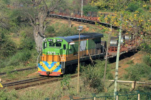 A Rift Valley Railway goods train, featured in Africa PORTS & SHIPS maritime news