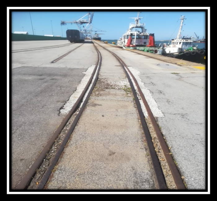 Second rail alongside the Automotive Terminal, featured in AfricaPORTS & SHIPS maritime news