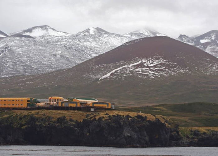 South African Research Station on Marion Island, featured in Africa PORTS & SHIPS maritime news