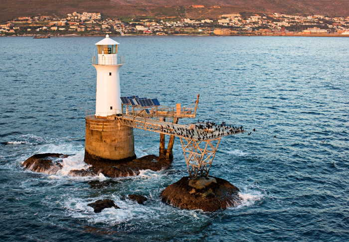 The Roman Rock Lighthouse celebrates 159 years of service this Heritage Month. Picture: Gerald Hoberman, featured in Africa PORTS & SHIPS maritime news