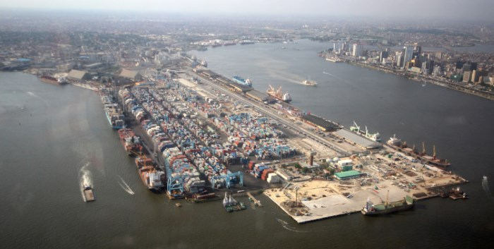 Apapa 'port' which together with Tin Can Island is within the city of Lagos, featured in Africa PORTS & SHIPS maritime news