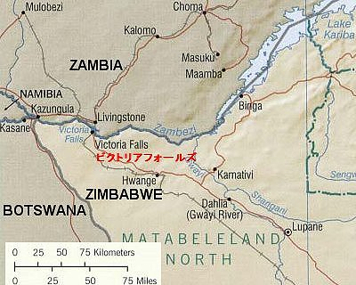 map of Kazungukla bri9dge crossing featured in Africa PORTS & SHIPS maritime news