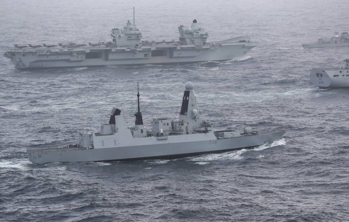 HMS Defender, featured in Africa PORTS & SHIPS maritime news
