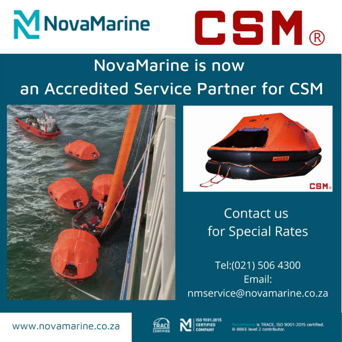 CSM and NovaMarine fatired in Africa PORTS & SHIPS maritime news