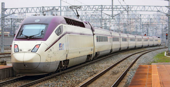 South Korea's KTX Sancheon class 120000 electric high speed trains, featured in Africa PORTS & SHIPS maritime news