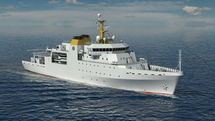Conceptual image of the new HSV, featured in Africa PORTS & SHIPS maritime news