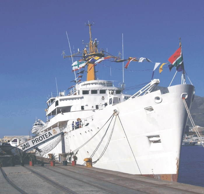 HMSAS Protea commissioned in 1972, featured in Africa PORTS & SHIPS maritime news