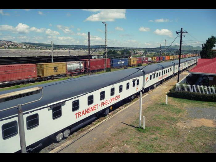 Transnet's travelling clinic train, the Phelophepa, featuired in Africa PORTS & SHIPS maritime news