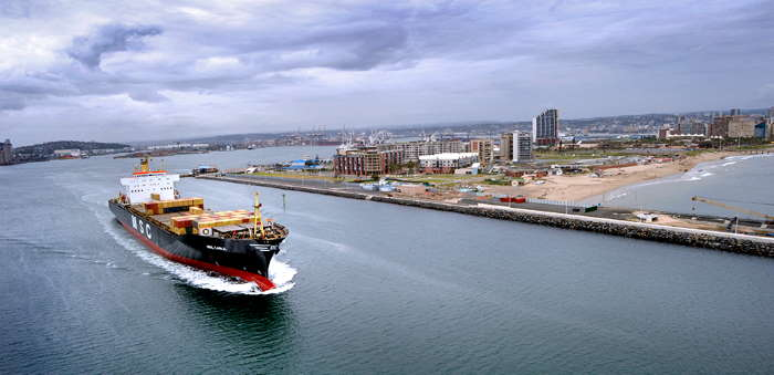 Port of Durban featured in Africa
