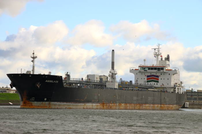 Products tanker Agisilaos. Picture courtesy: Shipspotting, featured in Africa PORTS & SHIPS maritime news