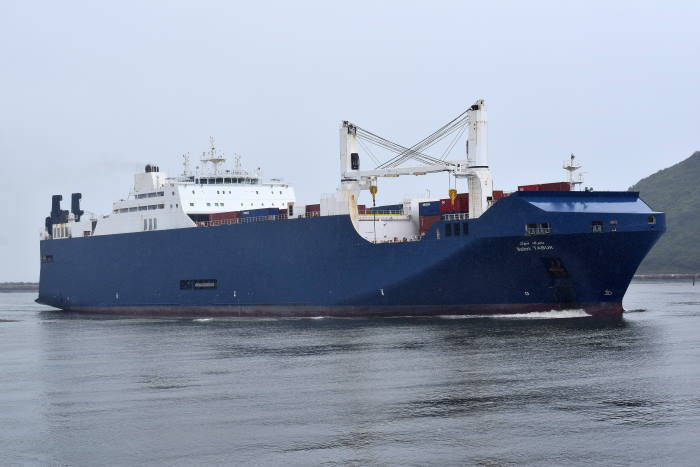 Bahri Tabuk, pictuire by Trevor Jones appearing in Africa PORTS & SHIPS maritime news
