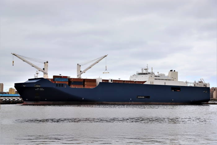Bahri Tabuk, pictuire by Keith Betts appearing in Africa PORTS & SHIPS maritime news