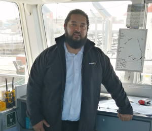 Captain Leroy du Plessis, featured in Africa PORTS & SHIPS maritime news