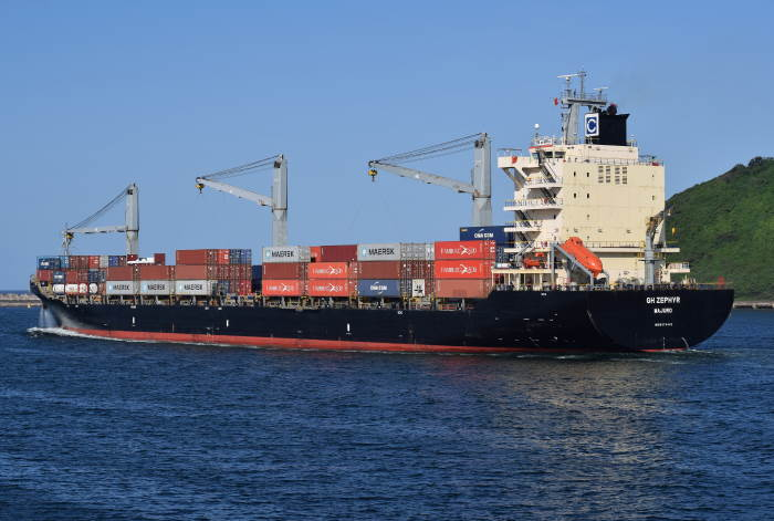 GH Zephyr Picture by: Trevor Jones, appearing in Africa PORTS & SHIPS maritime news
