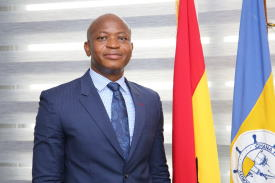 Michael Lukuje, Director-General of Ghana Ports & Harbours Authority and current President of the Ports Management Association of West and Central Africa (PMAWCA), featured in Africa PORTS & SHIPS maritime news