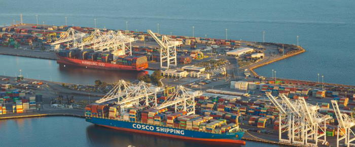 Port of Long Beach featured in Africa PORTS & SHIPS maritime news