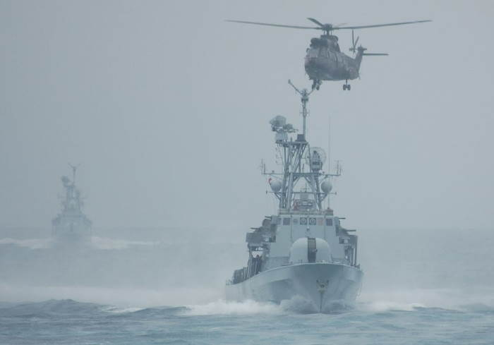 Strike craft underway in a choppy sea. Pictures are from Jop Fourie, featured in Africa PORTS & SHIPS maritime news