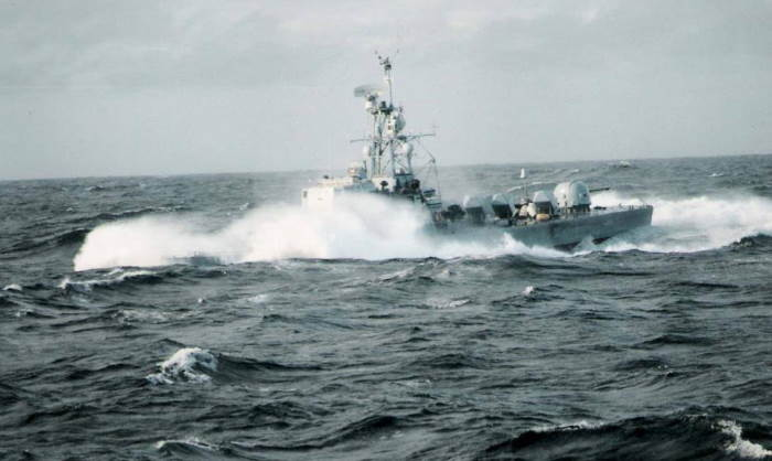 Getting a wash - the strike craft were capable of a very high rate of speed, featured in Africa PORTS & SHIPS maritime news